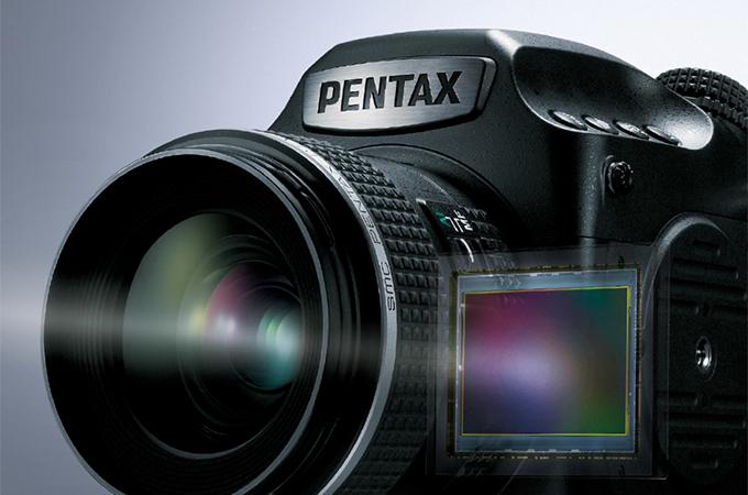 PENTAXの中判一眼レフ645Z