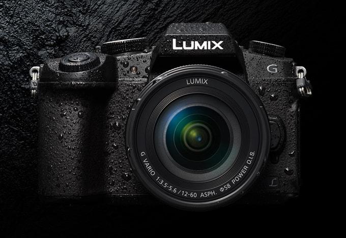 LUMIX G8の防塵防滴