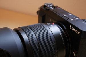 lumix12-60mmレンズとGX7KK2