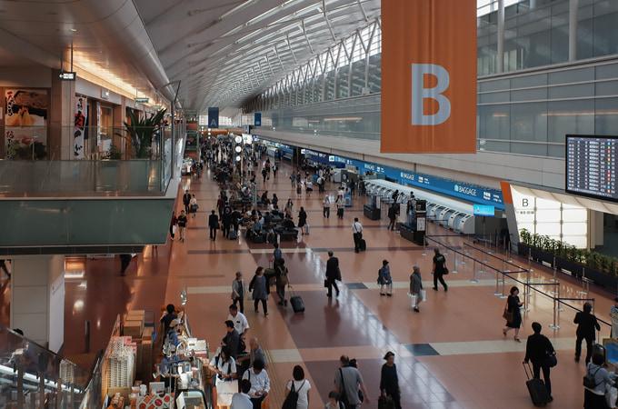 FUJIFILM XF10の作例 羽田空港