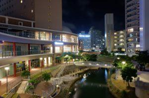FUJIFILM XF10の夜景作例 沖縄
