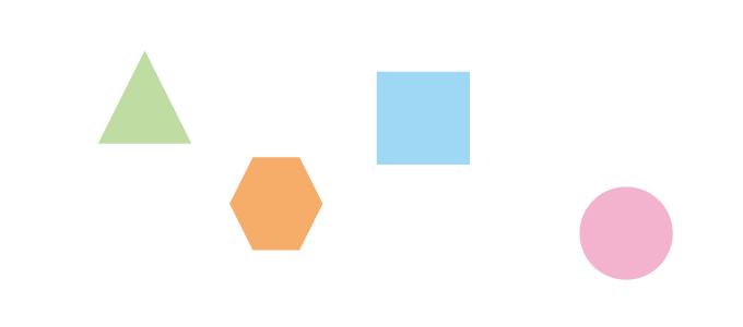 illustratorの整列パネルを使った整列
