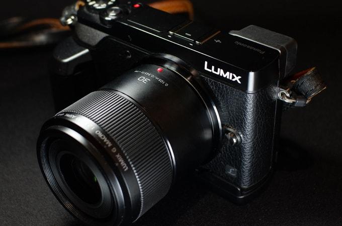 LUMIX GX7MK2に30mm F2.8マクロレンズ