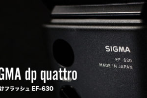 dp2QuattroとフラッシュEF-630