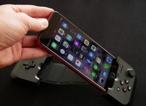 GAMEVICEとiPhoneを接続