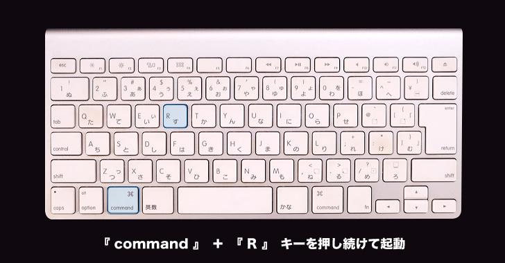 macOSの復元
