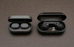 SOUNDSOUL E1 と他社製品のサイズ比較